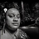 Chris Rainier New Zealand Maori Full Facial Mask Pattern